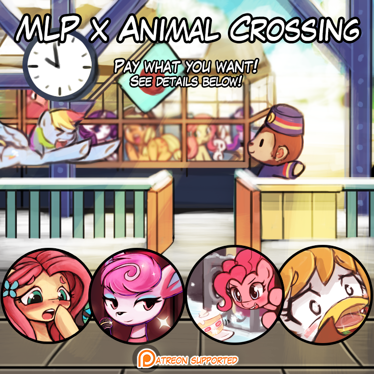 Art Pack – MLP x Animal Crossing