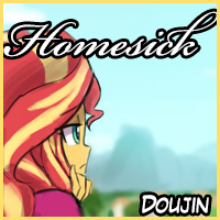 New doujin! Homesick!