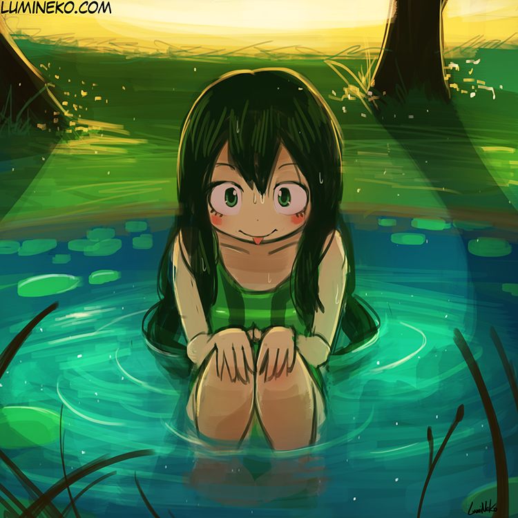 Speed Paint – Frog Pond
