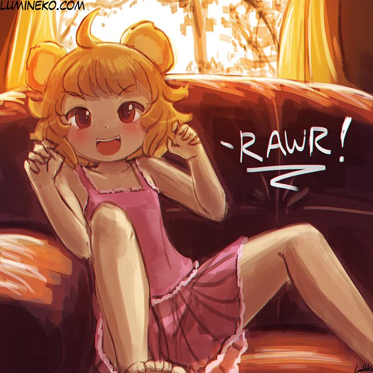 Speed Paint – RAWRbear Girl