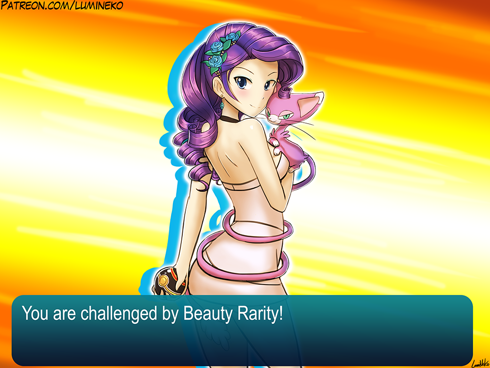 You are challenged by Beauty Rarity!