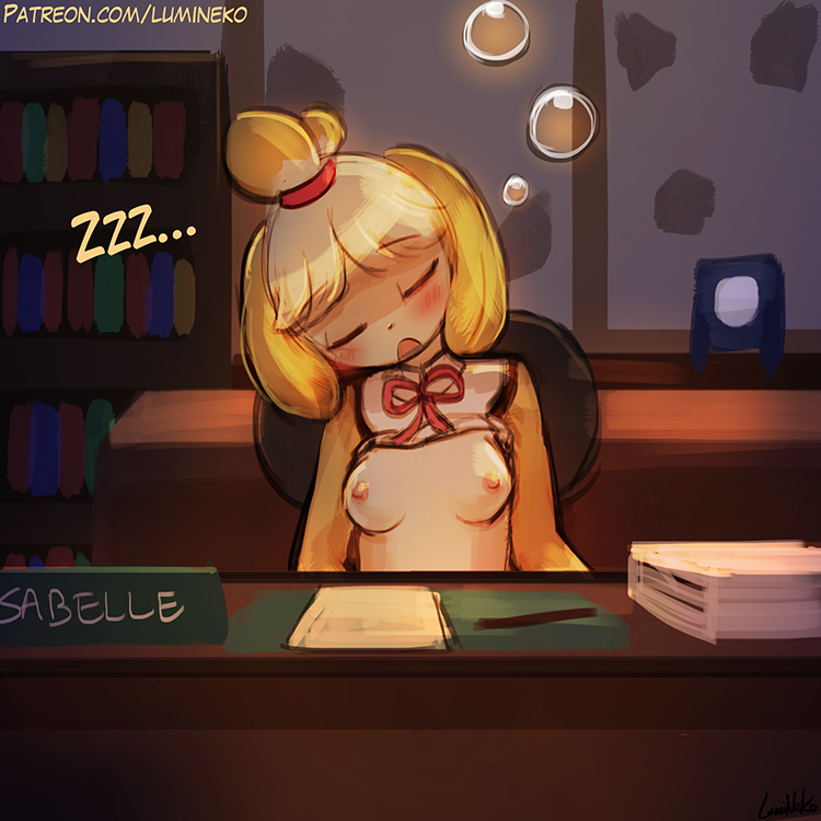 Speed Paint – Sleepy Isabelle