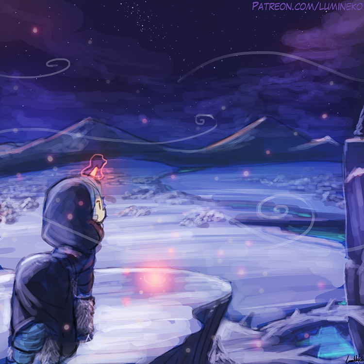 Speed Paint – Through the Winter
