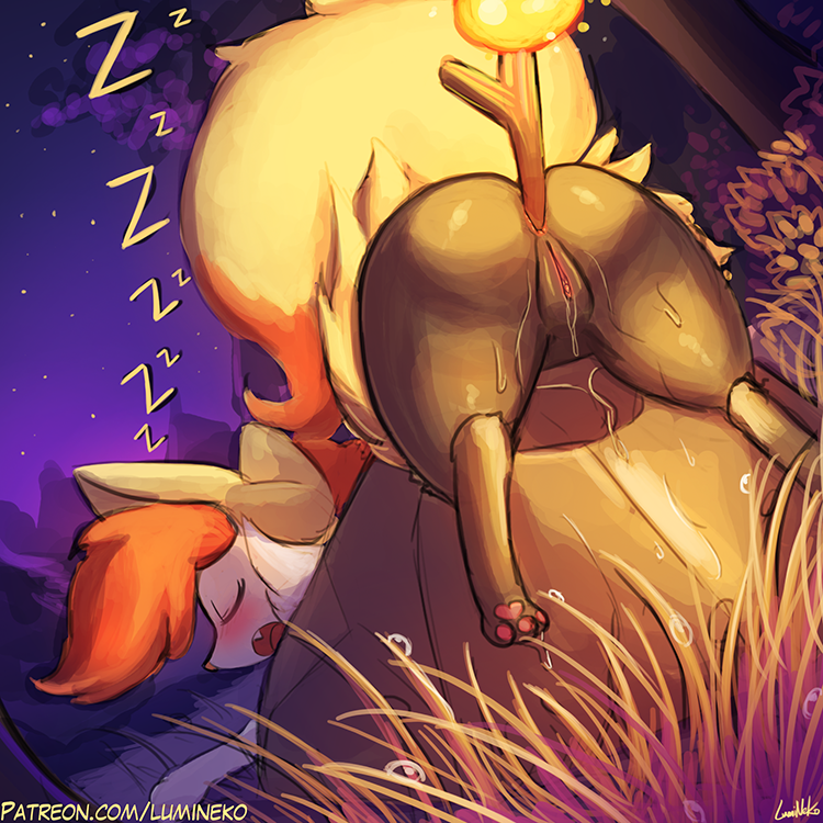 PokePorn Dex – #654 Braixen