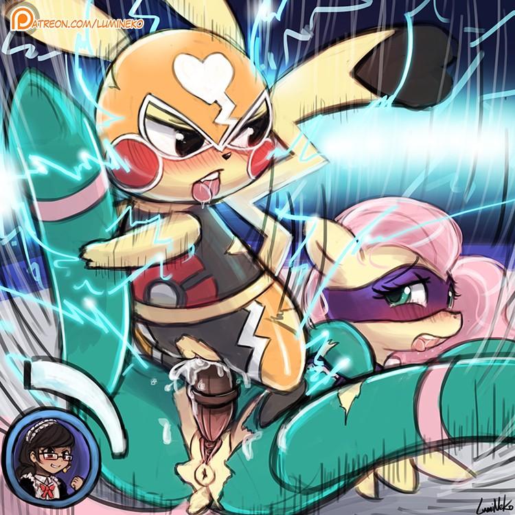 PokePorn Dex – #025 Pikachu