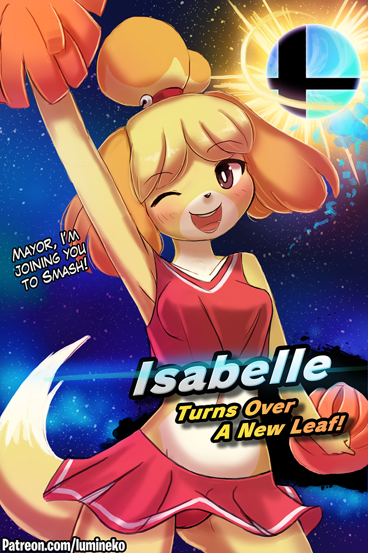 Isabelle Turns Over A New Leaf!