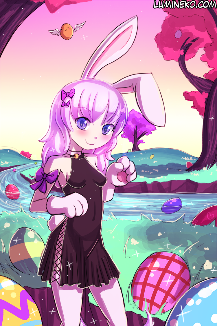 Easter Bunny Chalcy