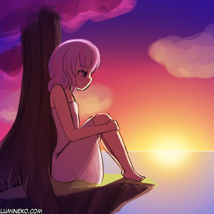Relaxing Sunset