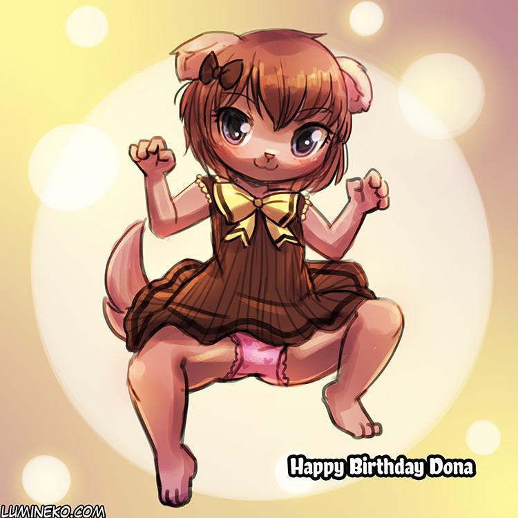 Happy Birthday Dona