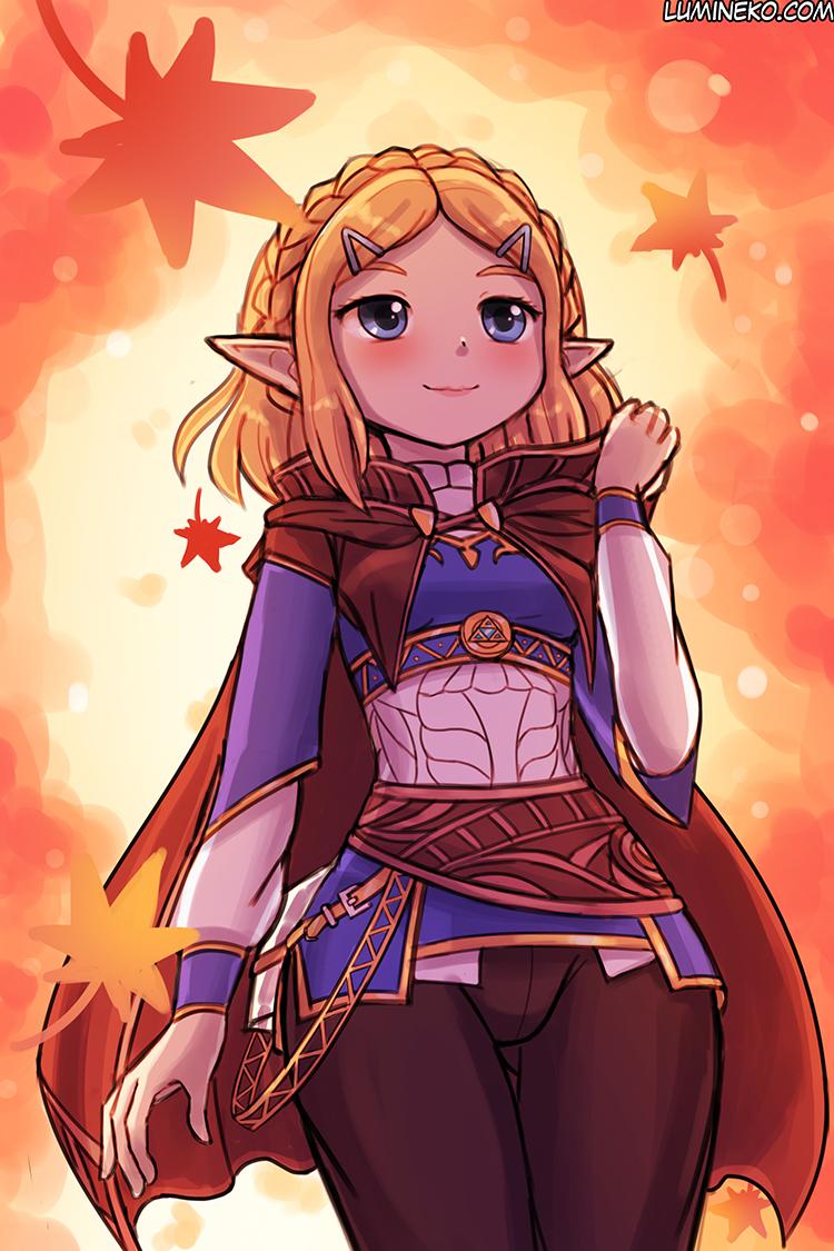 Fall Zelda